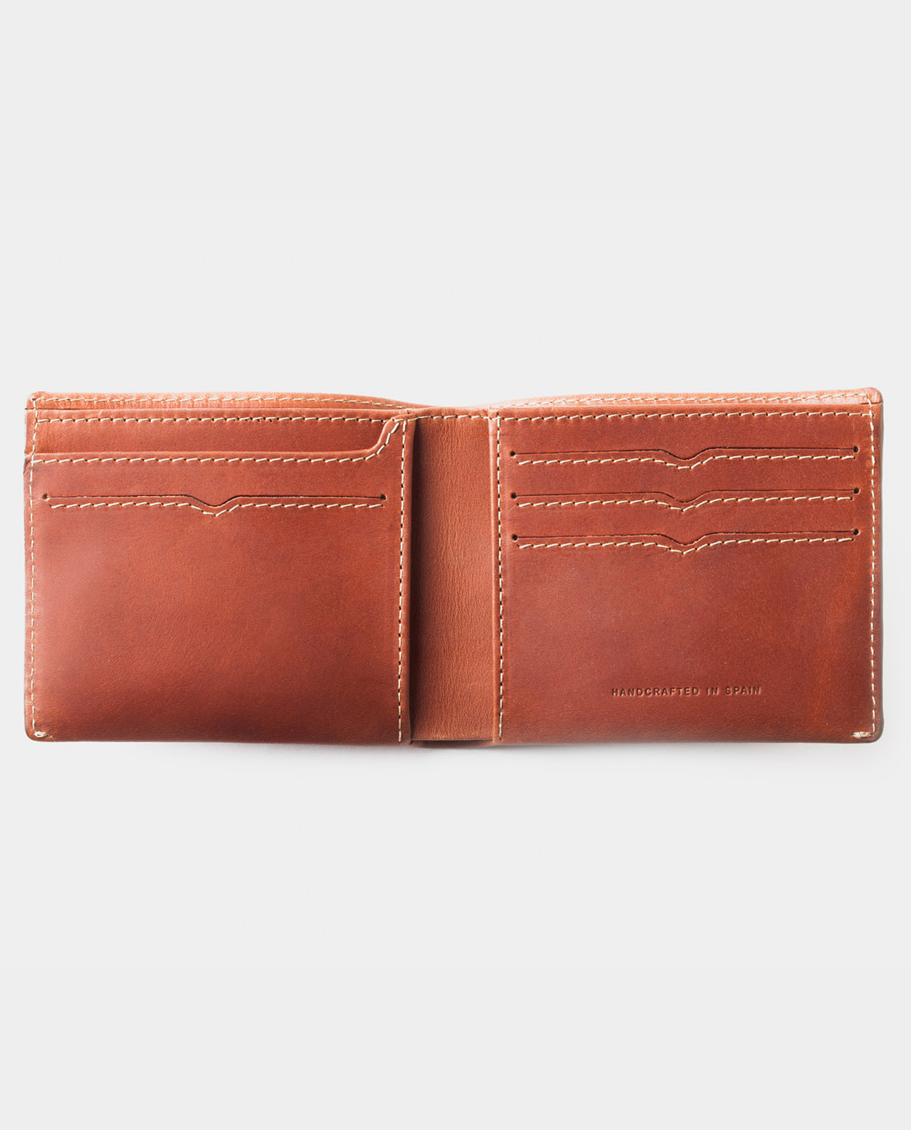 billfold wallet brown for coins and bills