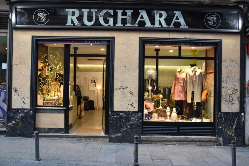 Rughara escaparate