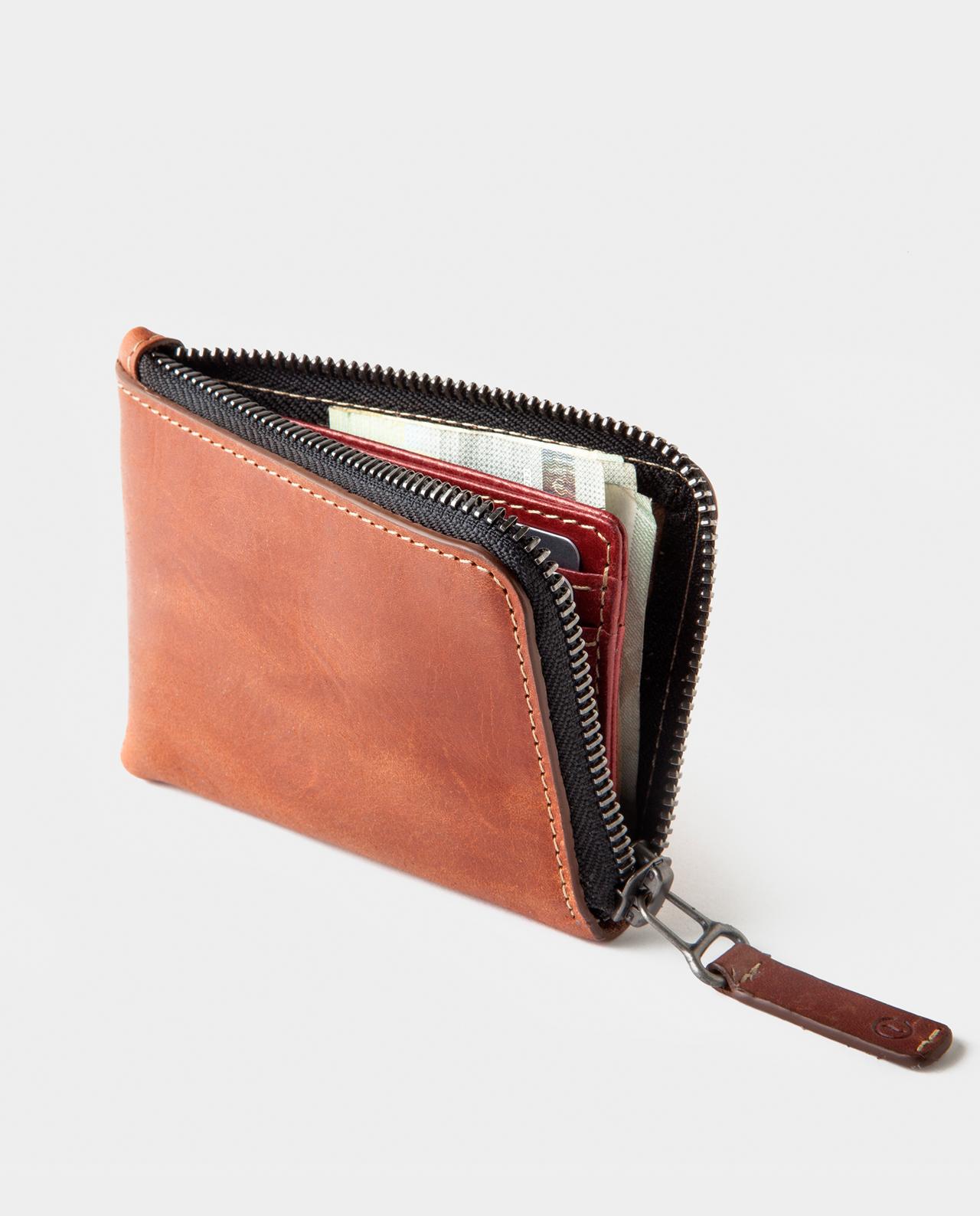 Osaka Zip Wallet Roasted | Handcrafted in Spain | CAFÉ