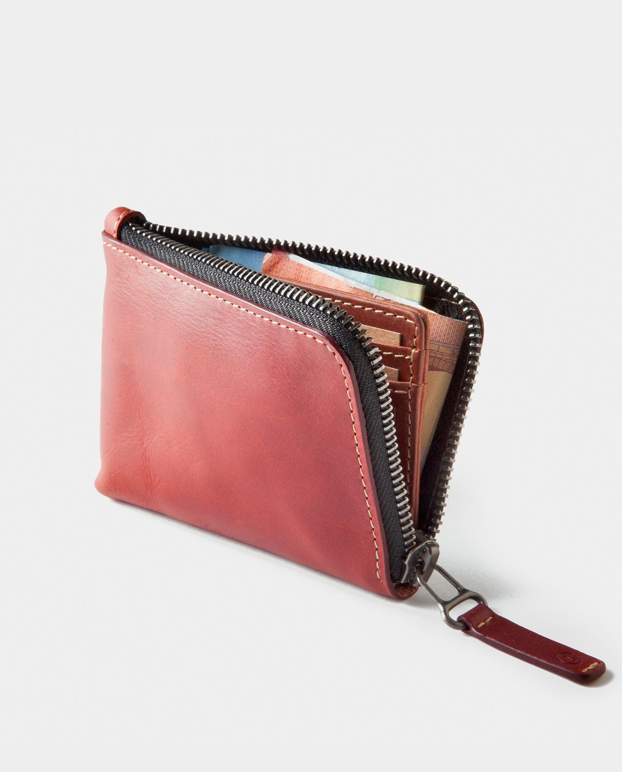 Osaka Zip Wallet Berry  8aa99a3ab