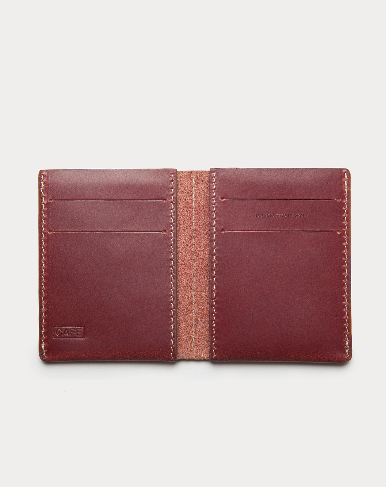 Ultra Slim Leather Wallet Jamaica Berry 2