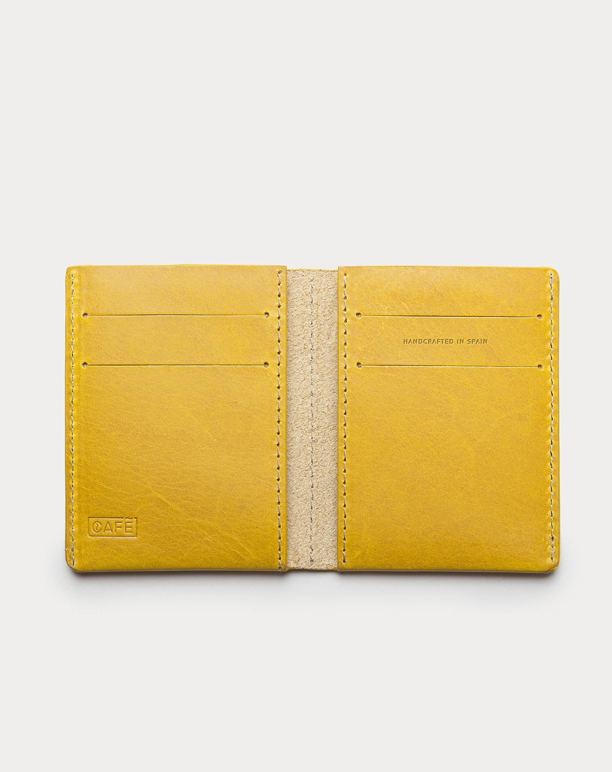 Ultra Slim Leather Wallet Jamaica Honey Mustard 3