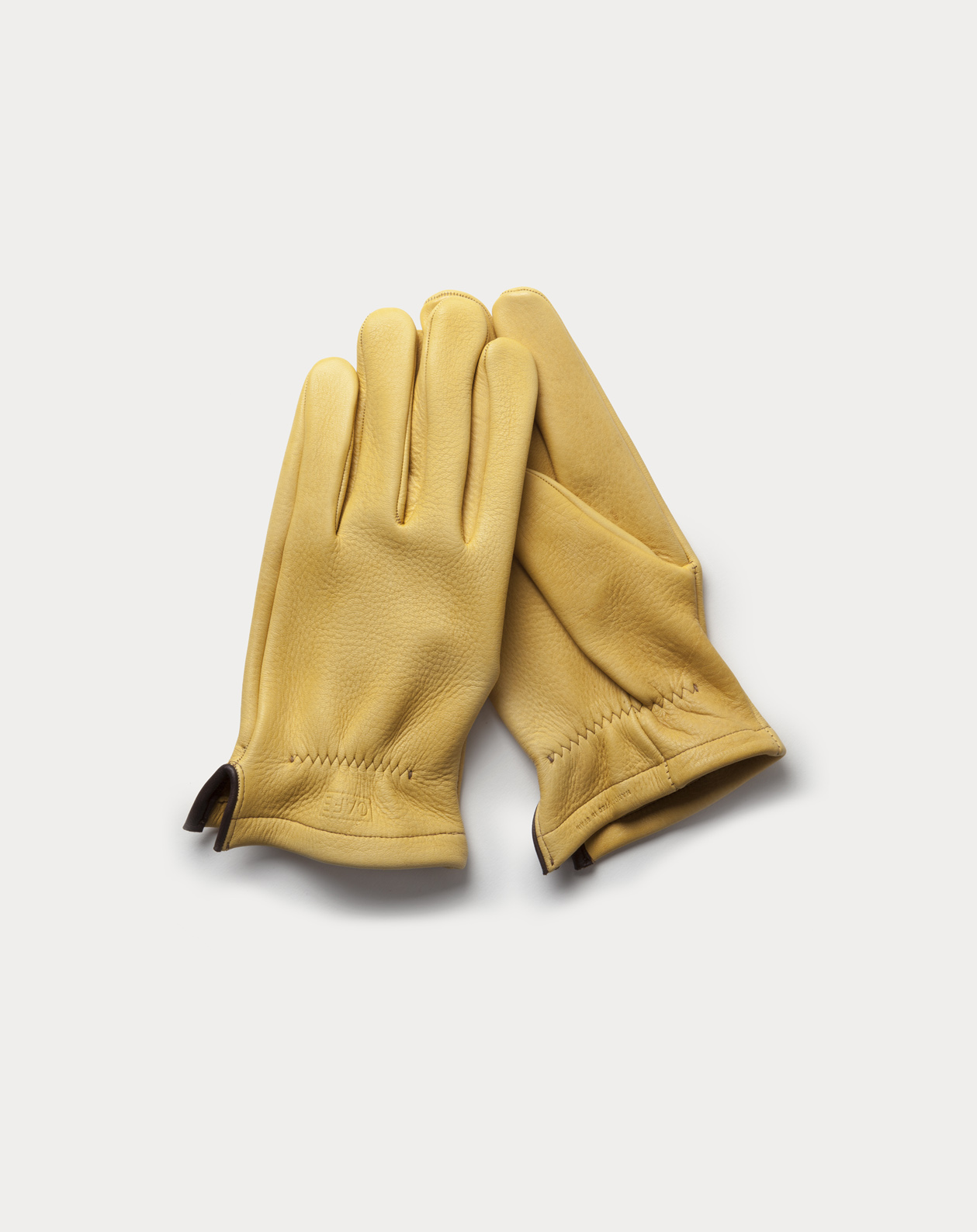 Deerskin gloves Hudson handcrafted in Spain