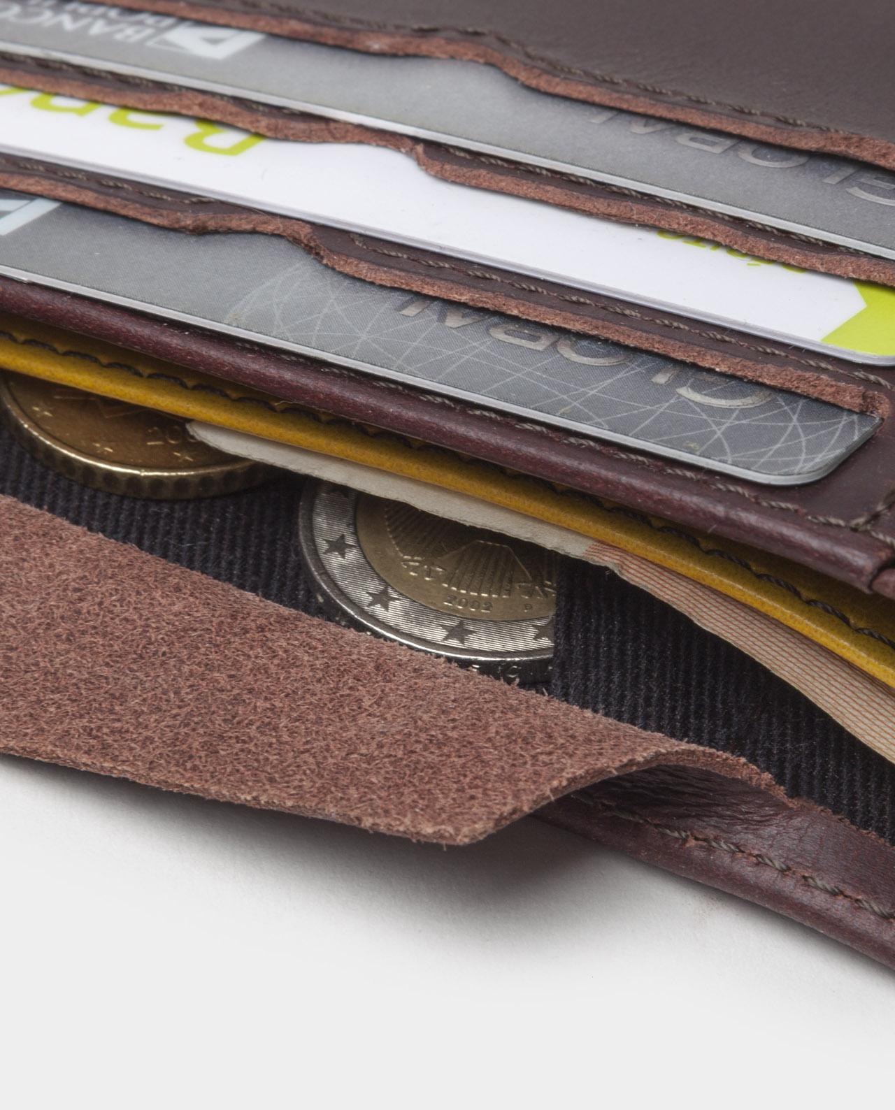 billfold wallet black for coins