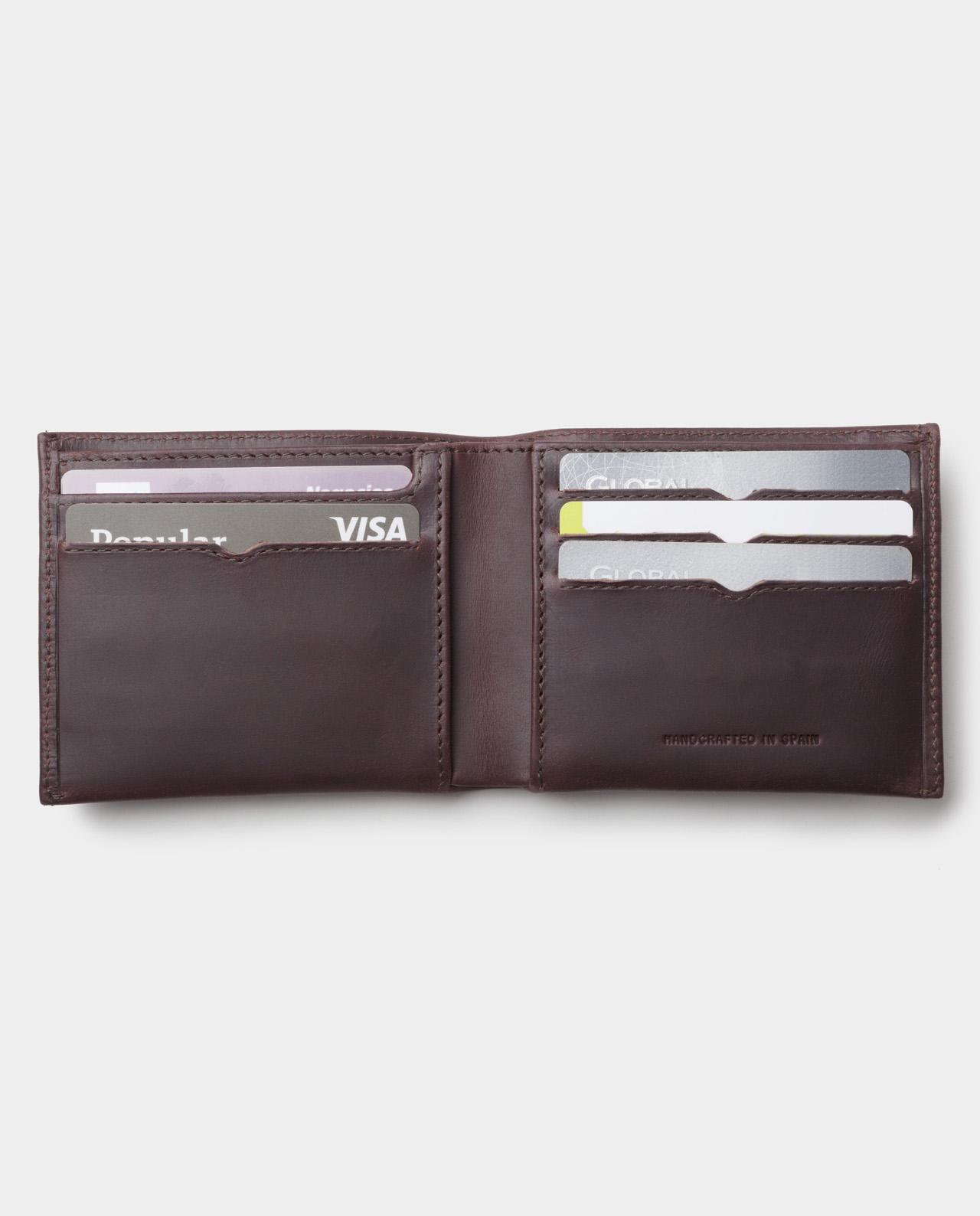 billfold wallet black