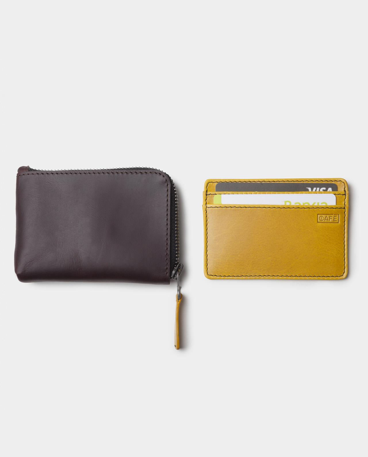 zip wallet with cardholder