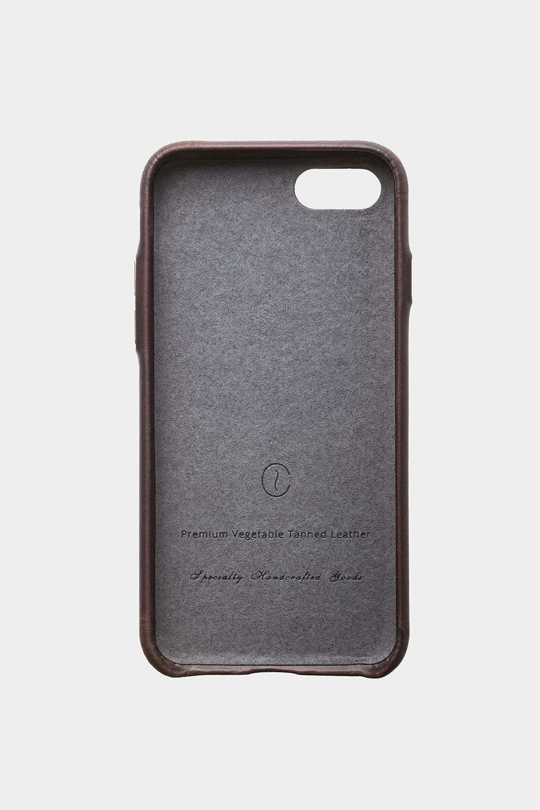 iphone leather case black